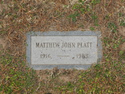 Matthew John Platt