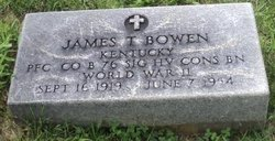 PFC James T Bowen
