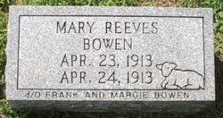 Mary Reeves Bowen