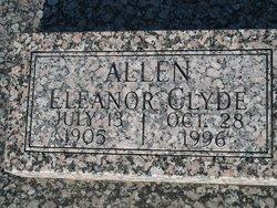 Eleanor Clyde <i>Buford</i> Allen