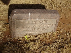 Dixie Gene Arant