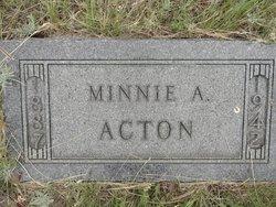 Minnie <i>Rambo</i> Acton