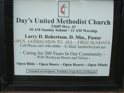 Days United Methodist Church Cemetery