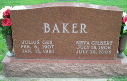 Neva <i>Gilbert</i> Baker