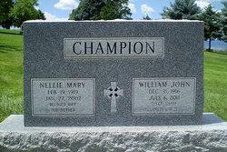 Nellie Mary <i>Garlick</i> Champion