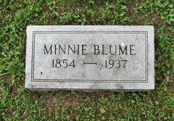 Wilhelmina Minnie <i>Fritz</i> Blume