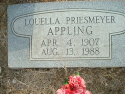 Louella Priesmeyer Appling