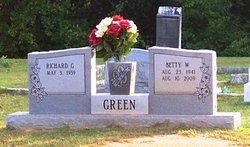 Betty W <i>Rickles</i> Green