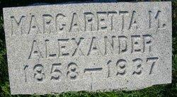 Margaretta <i>Myers</i> Alexander