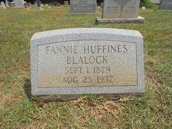Fannie <i>Huffines</i> Blalock