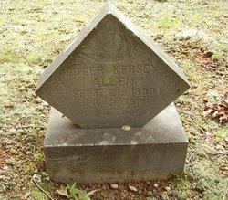 Edger Kersey Allen