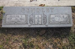 Joseph E Fendley