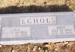 Deet <i>Aldrich</i> Echols