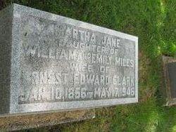 Martha Jane <i>Miles</i> Clark