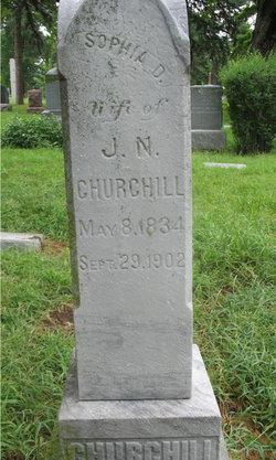 Sophia Demas <i>Thayer</i> Churchill