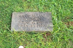 Jessie Maude <i>McLane</i> Robinson