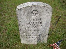 John Walter Ackols