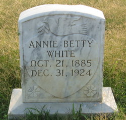 Annie Betty <i>White</i> Baker