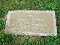 Leonard DeVore