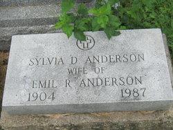 Sylvia D <i>Tilburne</i> Anderson