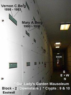 Mary Ann <i>Peters</i> Berg