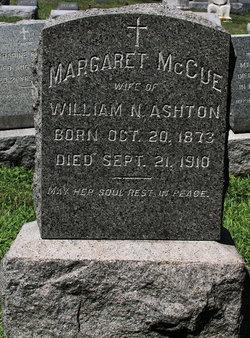 Margaret <i>McCue</i> Ashton