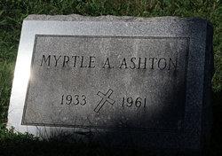 Myrtle A Ashton