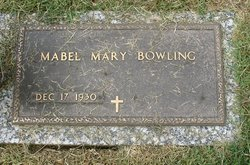 Mabel Mary Bowling