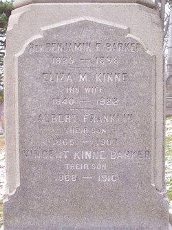 Eliza M. Lizzie <i>Kinne</i> Barker
