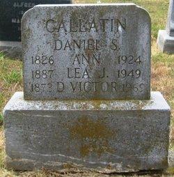Ann Gallatin
