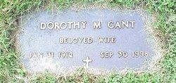Dorothy M Gant