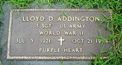 Lloyd D. Addington