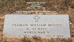 William Truman Truman McCoy