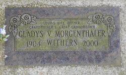 Gladys V. <i>Morgenthaler</i> Withers