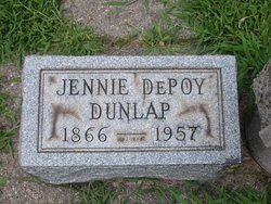 Jennie <i>DePoy</i> Dunlap