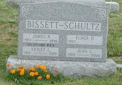 Violet Iverna <i>Schultz</i> Bissett