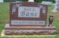 Nell Elizabeth <i>Scott</i> Bane