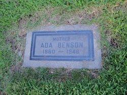 Ada <i>Hunt</i> Benson