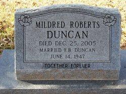 Mildred <i>Roberts</i> Duncan