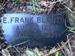Edward Frank Franklin Blanton