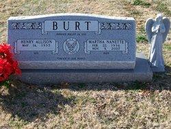 Martha Nanette <i>Garrett</i> Burt