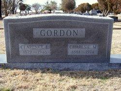 Clarence E Gordon