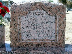 Ruby May <i>Cole</i> Wilkerson
