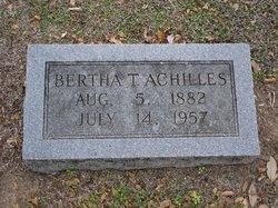 Bertha <i>Thiele</i> Achilles