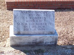 Mattie <i>Moody</i> Roberts