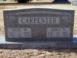 Dora N <i>Maddux</i> Carpenter