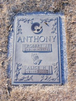 Alice Helen <i>Mackie</i> Anthony
