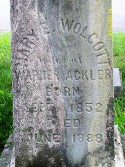 Mary <i>Wolcott</i> Ackler