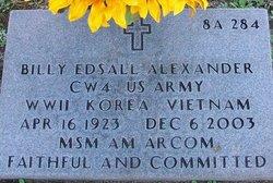 Billy Edsall Alexander
