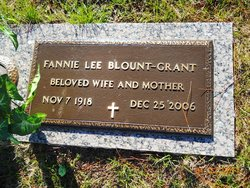 Fannie Lee Blount-Grant